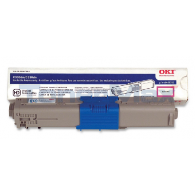OKI C330DN TONER CARTRIDGE MAGENTA
